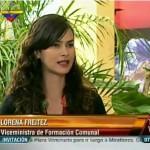 Foto Nota Ministra Freitez