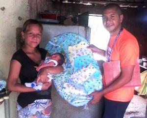1. Brindamos apoyo a las mujeres embarazadas en el estado Miranda